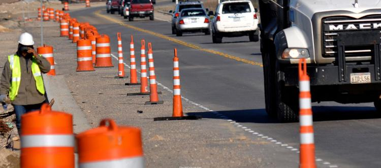 Striping Service and Supply shows an image from a Wisconsin work zone!